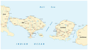 road-map-indonesian-lesser-sunda-islands-bali-lombok-vector-85007677